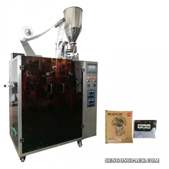 Drip Coffee Bag Packing Machine with Outer Envelope
