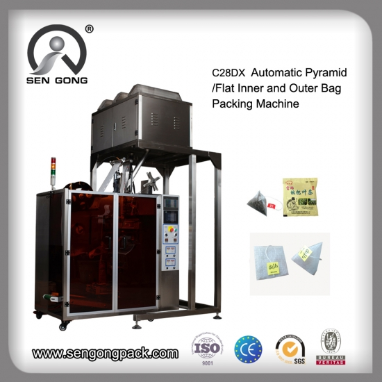 nylon tea bag packing machine